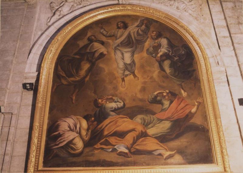 tableau, cadre : Transfiguration du Christ (la)