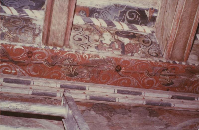 plafond, détail