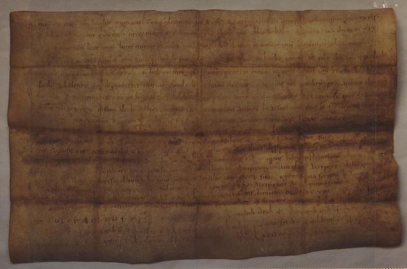 Manuscrit dit parchemin de saint Fulcran