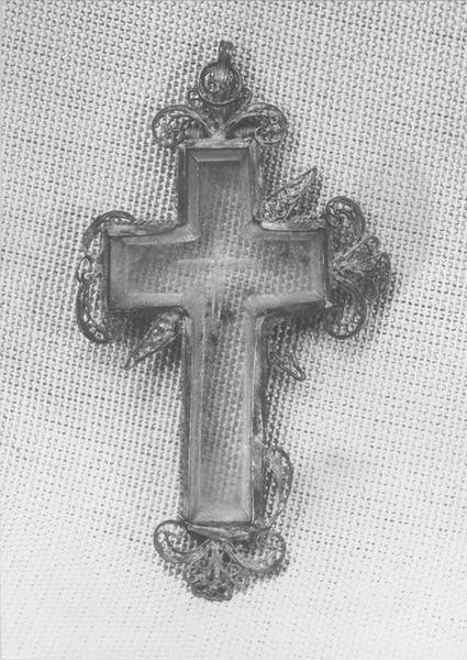 croix pectorale, vue générale