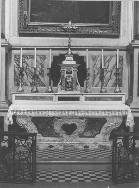 autel, tabernacle, vue générale