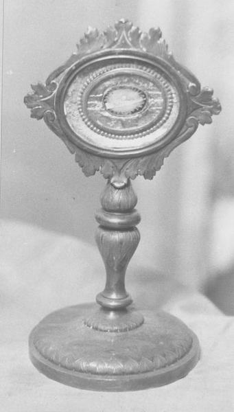 Reliquaire-monstrance de saint Roch