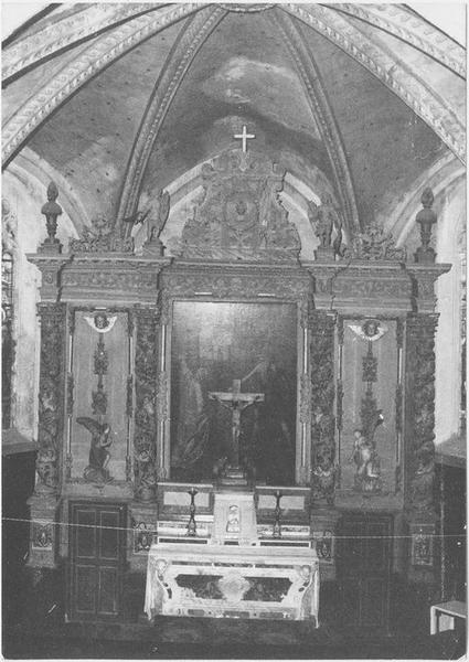 Retable, tabernacle du maître-autel, vue générale
