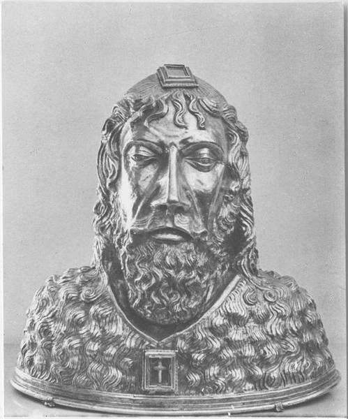 Buste-reliquaire : Saint Jean-Baptiste