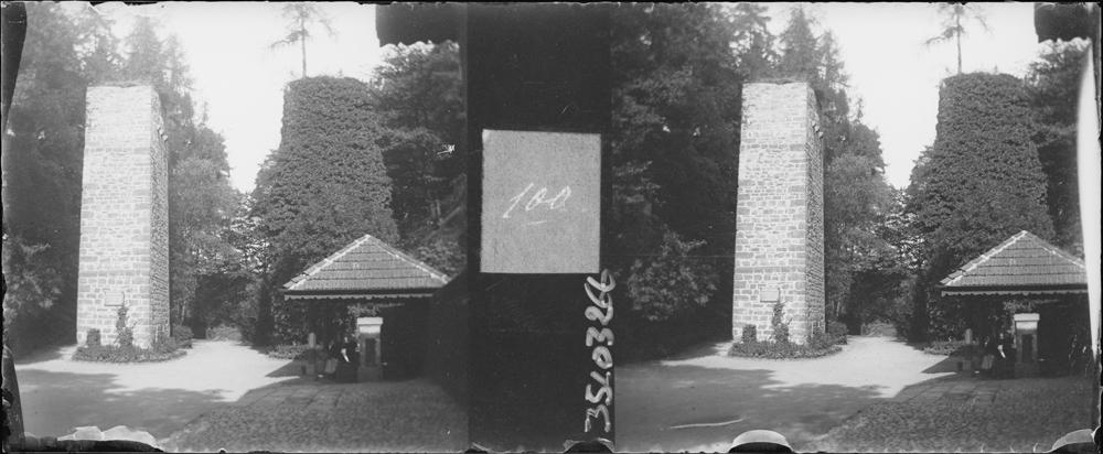 Bastion est et une des trois tours portes