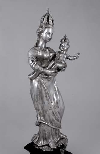 statue-reliquaire : Vierge à l'Enfant