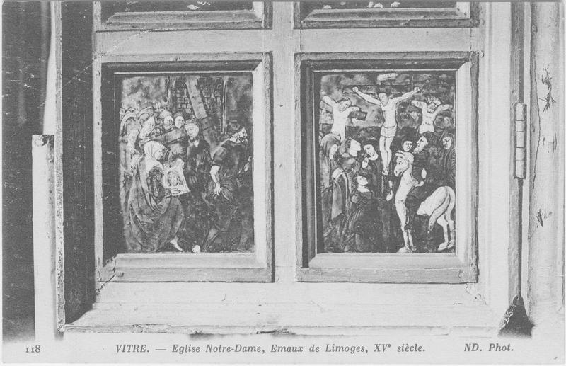 Retable triptyque de la légende de la Vierge, détail