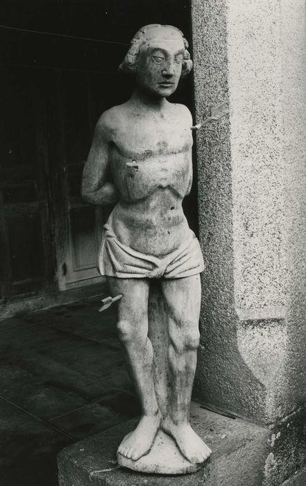 statue : Martyre de saint Sébastien, vue générale