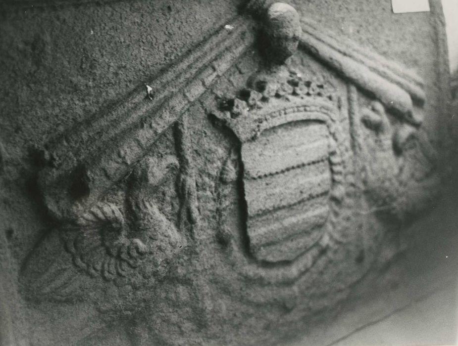 plaque de cheminée, vue générale
