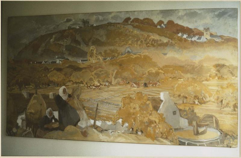 tableau : Mont-Dol, vue générale