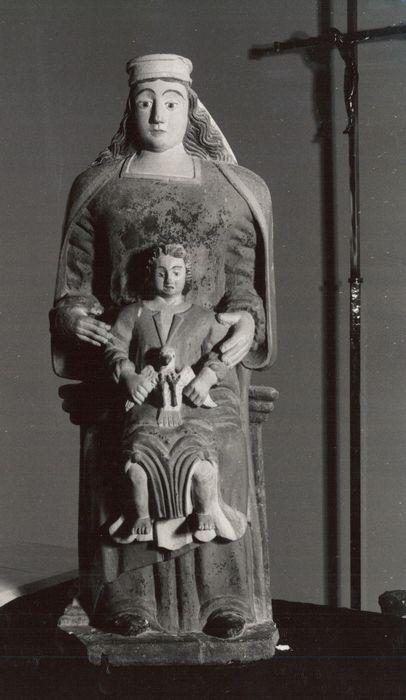 Statue : Vierge à l'Enfant ou Trinité