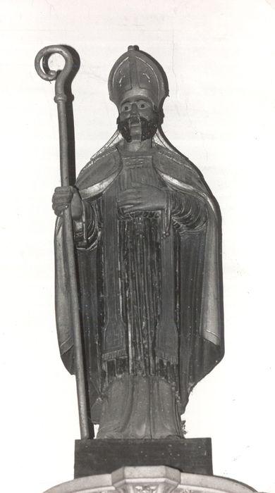 Statue : Saint Blaise en évêque