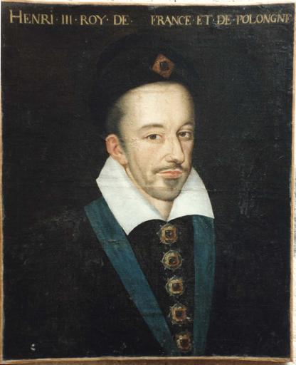 Tableau : portrait d'Henri III en buste