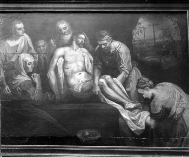 Tableau : la Mise au tombeau