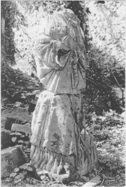 Statue: saint Antoine, vue générale