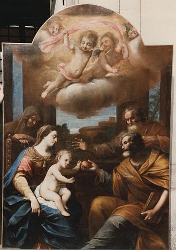 tableau, cadre : la Sainte Famille