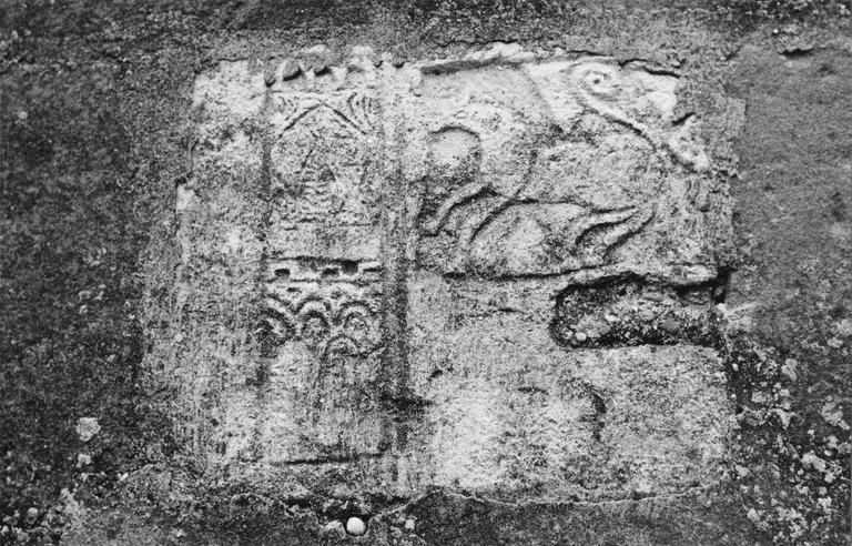 Pierre sculptée, époque pré-romane