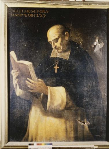 Tableau : Guillaume, évêque de Grenoble, huile sur toile