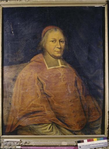 tableau : portrait du cardinal le Camus, évêque de Grenoble