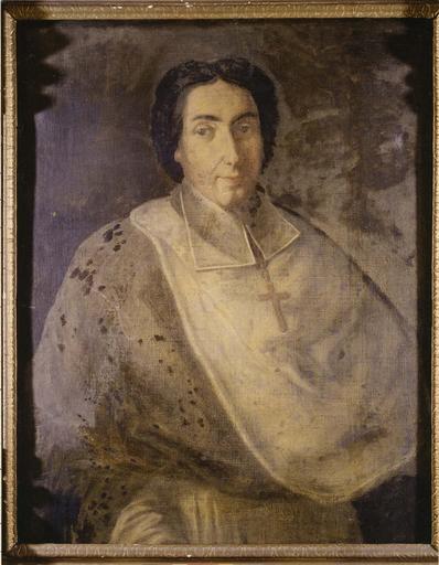 tableau : portrait de Jean de Caulet, évêque de Grenoble