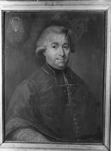 tableau : portrait de Claude Simon évêque de Grenoble