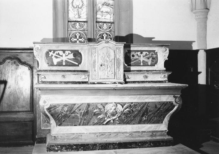 Maître-autel, 1770