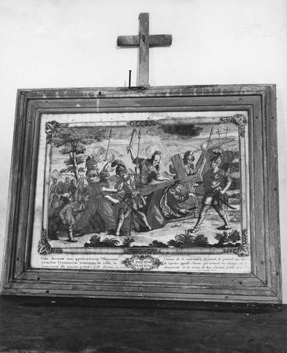 Chemin de croix, gravure