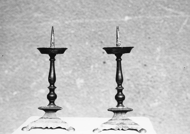 chandeliers (2), bronze