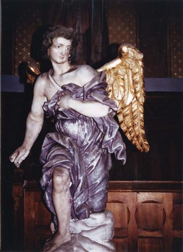 2 statues (paire) : anges