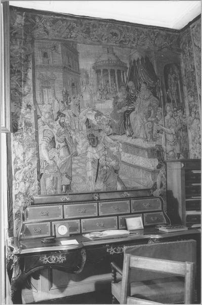 Pièce murale : histoire de saint Paul, Décapitation, vue générale