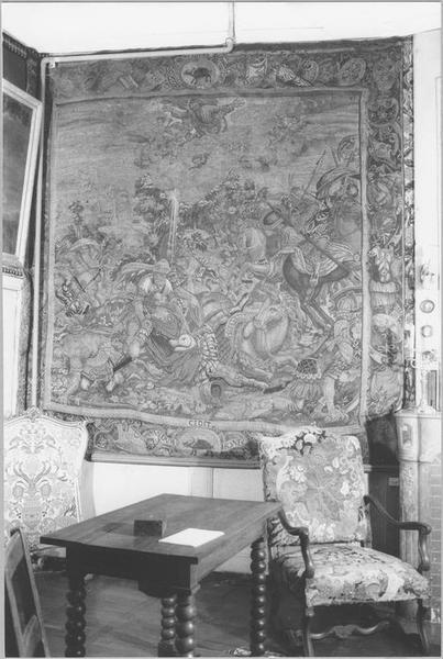 5 pièces murales : histoire de saint Paul