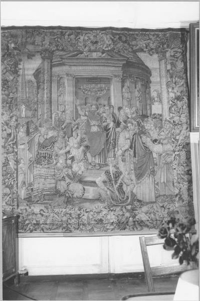 Pièce murale : histoire de saint Paul, Prédication à Ephèse, vue générale