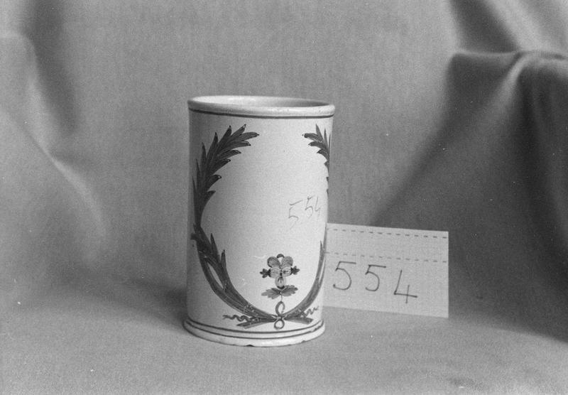 Vase décoratif, vue générale