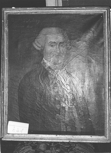 Tableau : Portrait de [...] d'Astorg, officier des mousquetaires, vue générale