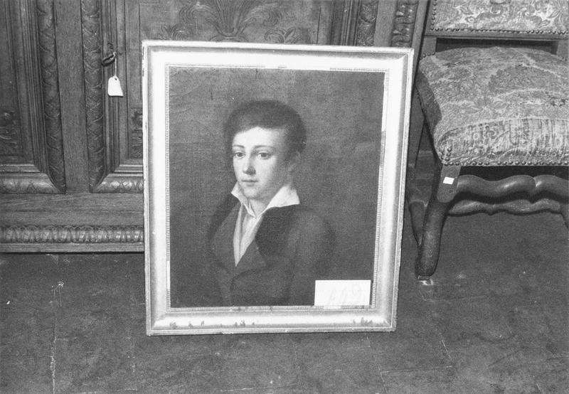 Tableau : Portrait d'homme, vue générale