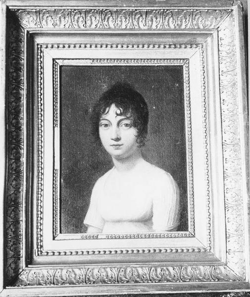 tableau : Portrait de femme, vue générale