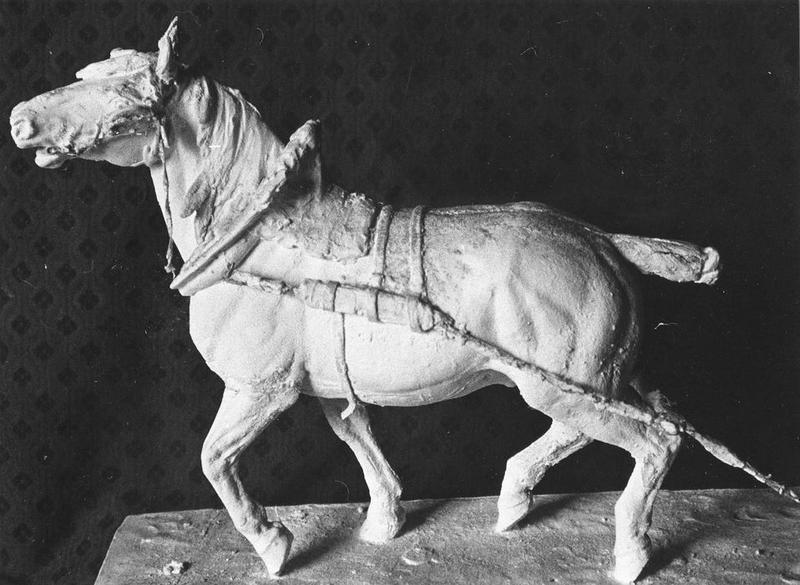 Statue : Cheval, vue générale