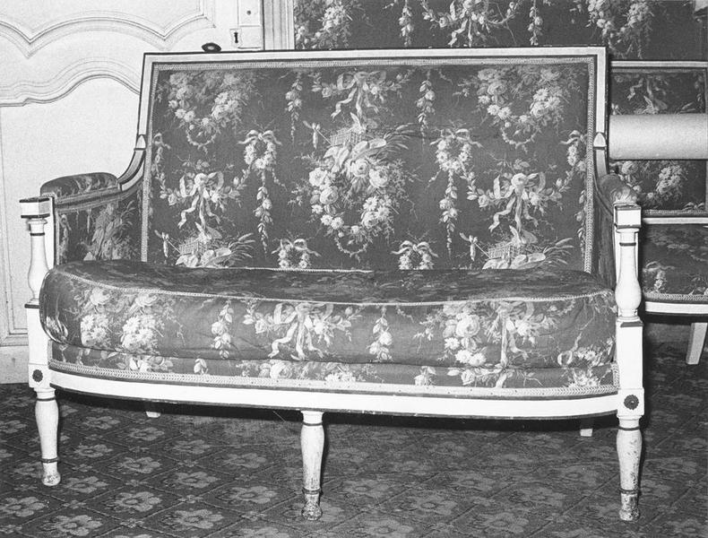 Canapé, vue générale