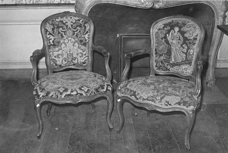 2 fauteuils, vue générale