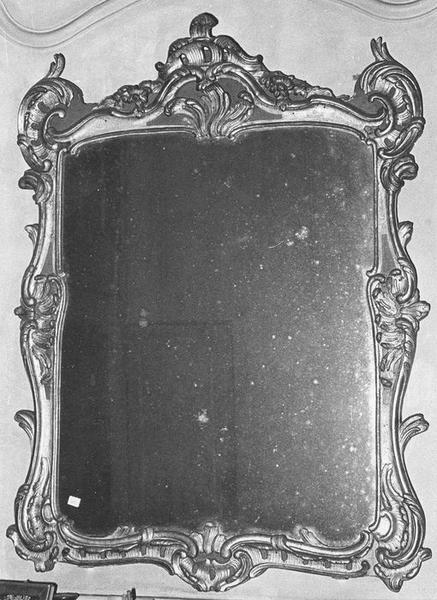 Miroir d'applique, cadre, vue générale