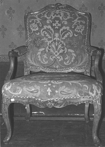 fauteuil, vue générale