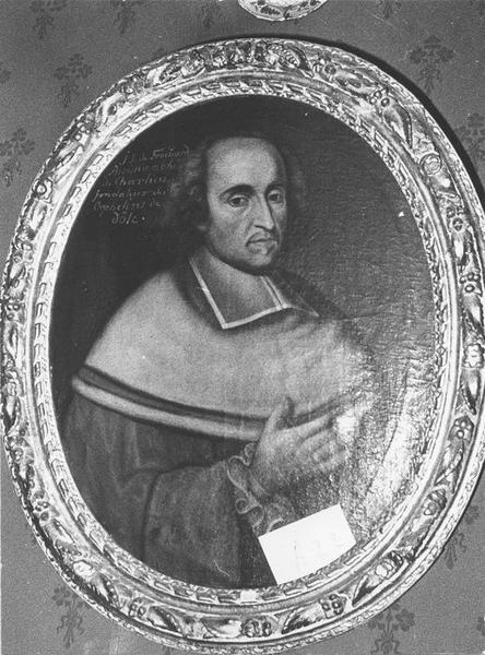 Tableau, cadre : J. J. de Froissard Broissia, vue générale
