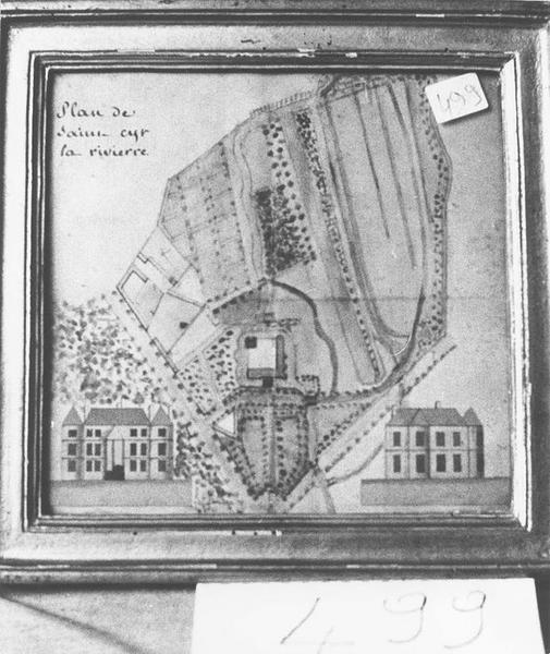 Plan de Saint-Cyr-la-Rivière, cadre, vue générale