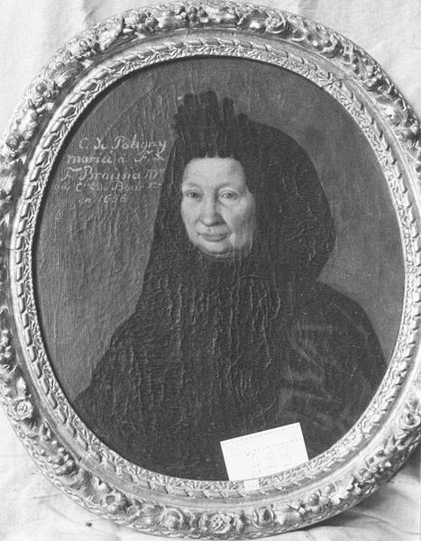 Tableau, cadre : C. de Poligny, vue générale