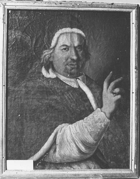 Tableau, cadre : Léon X, vue générale