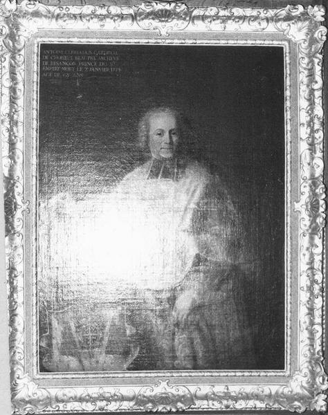 Tableau, cadre : Antoine Clériadus, vue générale