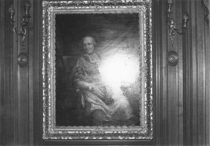 Tableau, cadre : Antoine Eléonor Léon Leclerc de Juigné, vue générale