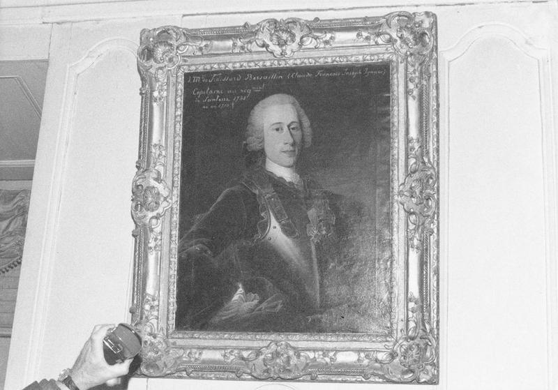 Tableau, cadre : Claude François Joseph Ignace de Froissard-Bersaillin, vue générale