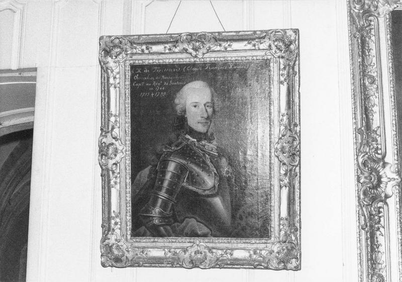 Tableau, cadre : Claude François Xavier de Froissard, vue générale