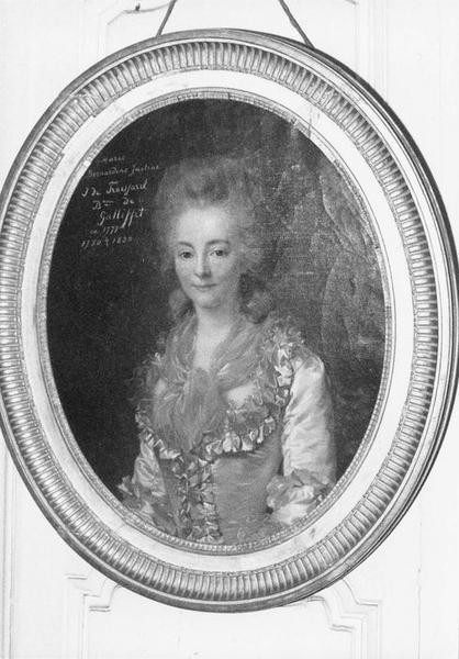 Tableau, cadre : Marie Bernardine de Gallifet, vue générale